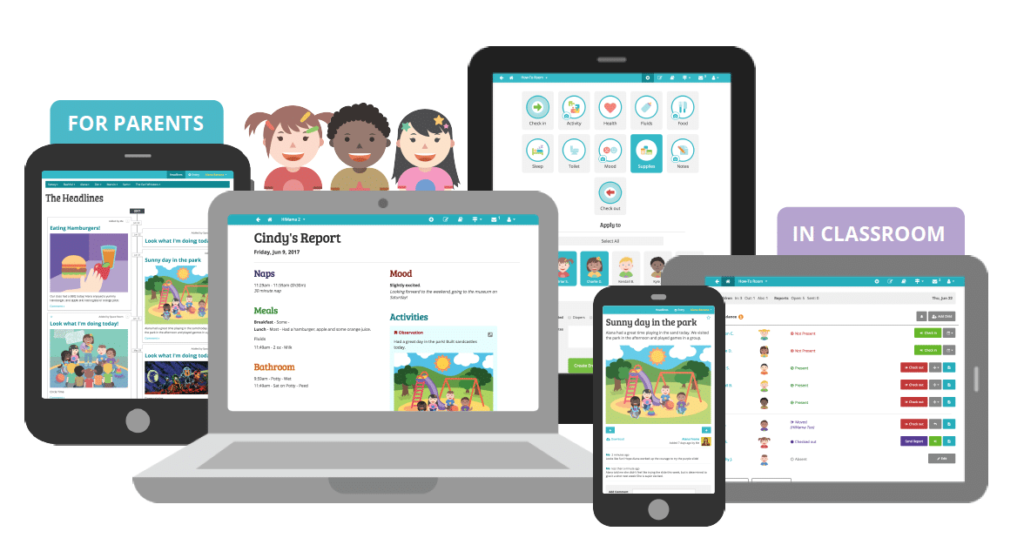 child care observation app