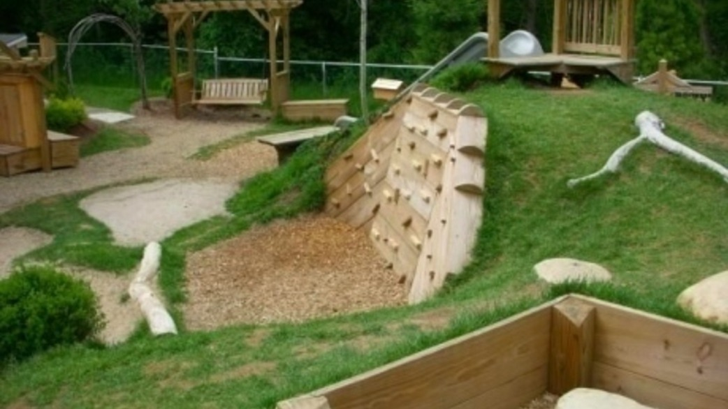Simple Natural Playground Ideas For, Ideas For Playgrounds