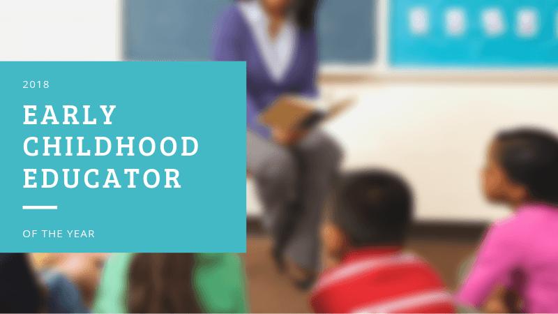 2018 early childhood educator of the year halle rubin