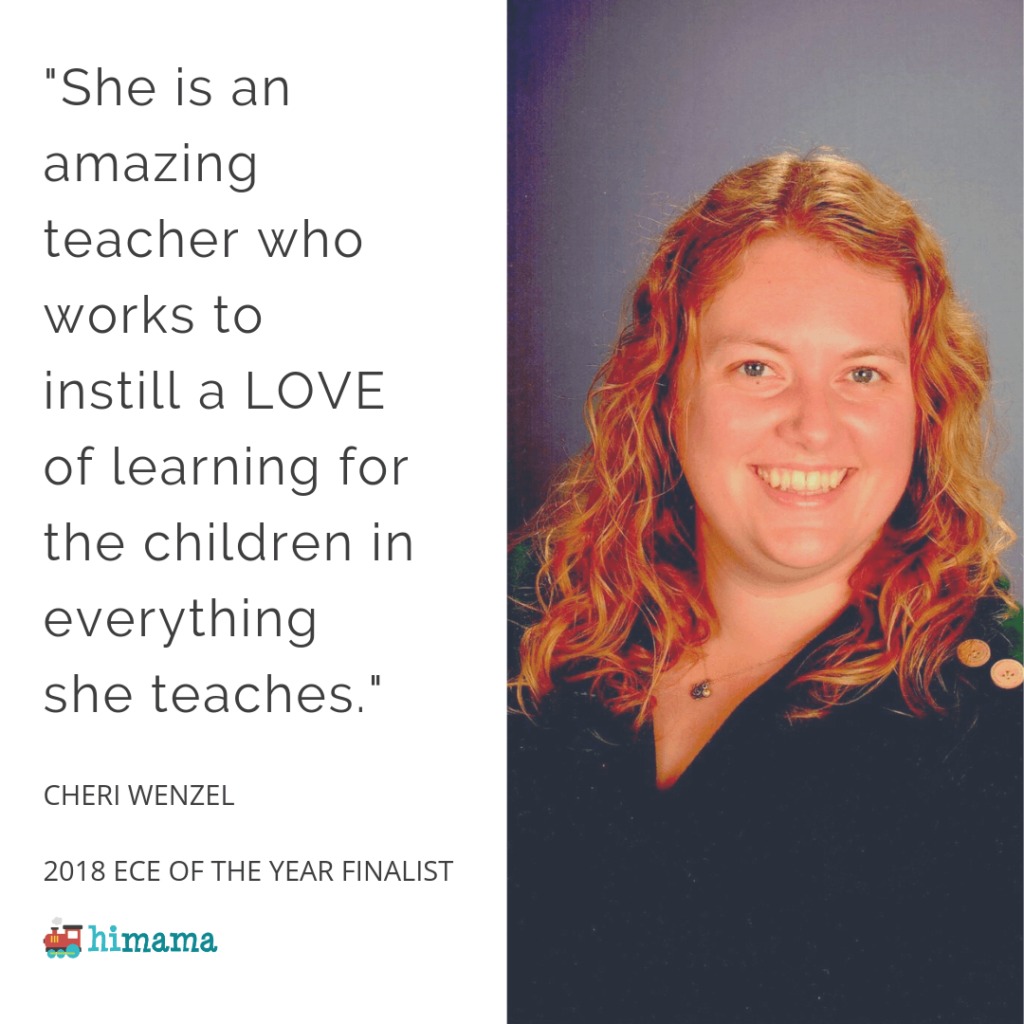 Cheri Wenzel - 2018 Early Childhood Educator of the Year Finalist