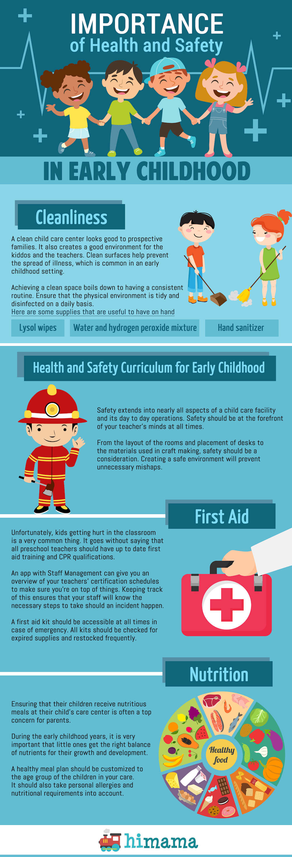 Importance of Health and Safety in Early Childhood