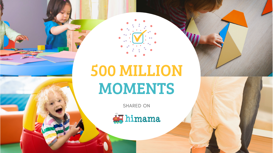 500 million moments shared on himama
