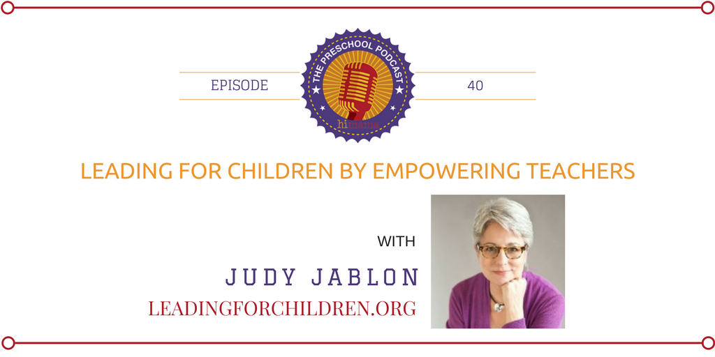 episode 40 Leading for children by empowering teachers