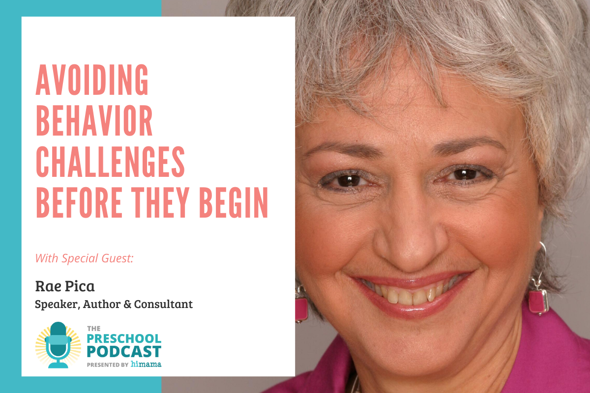 preschool podcast featuring rae pica - avoiding behavior challenges before they begin