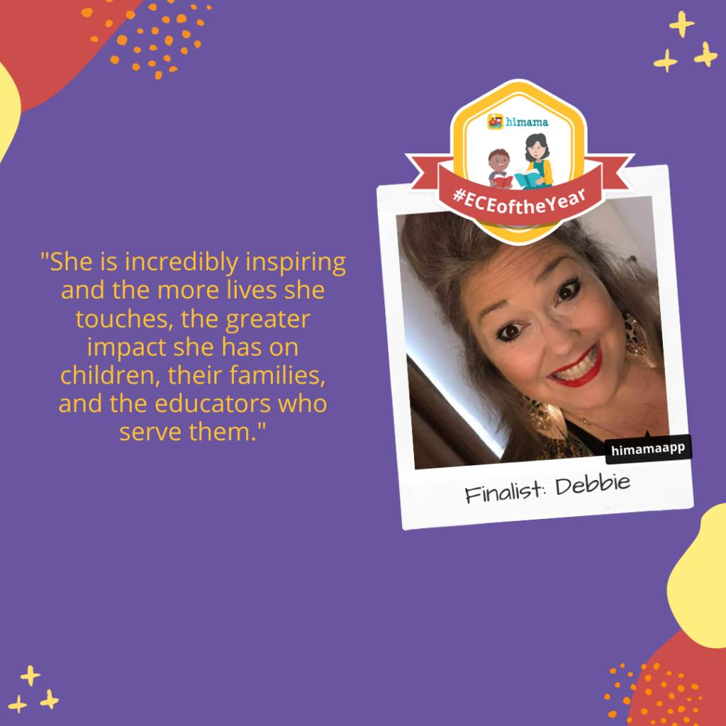 ECE of the Year finalist: Debbie