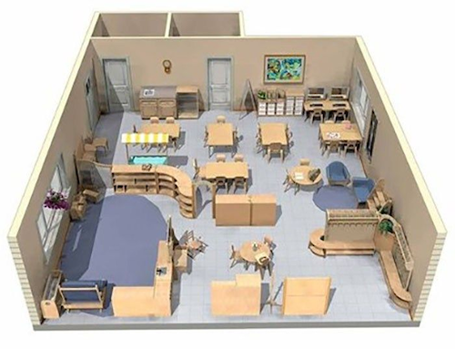 daycare classroom layout